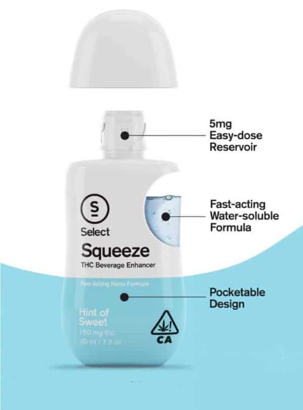 Squeeze Hint of Sweet: 5mg Easy Dose, Fast-Acting Soluble, Pocketable Design